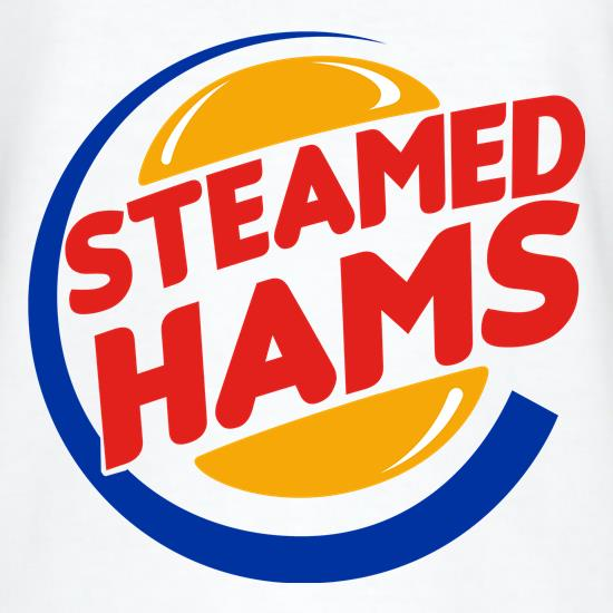 Steamed Hams t-shirts