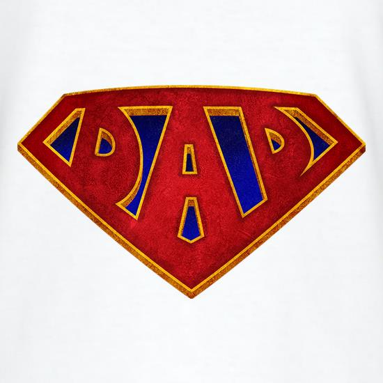 Super Dad Badge t-shirts