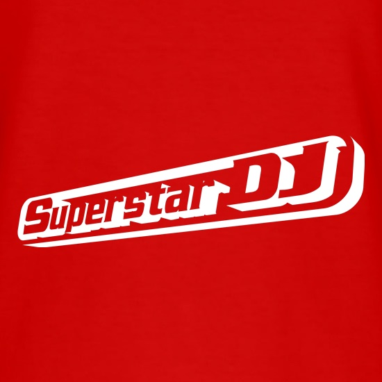 Superstar DJ t-shirts