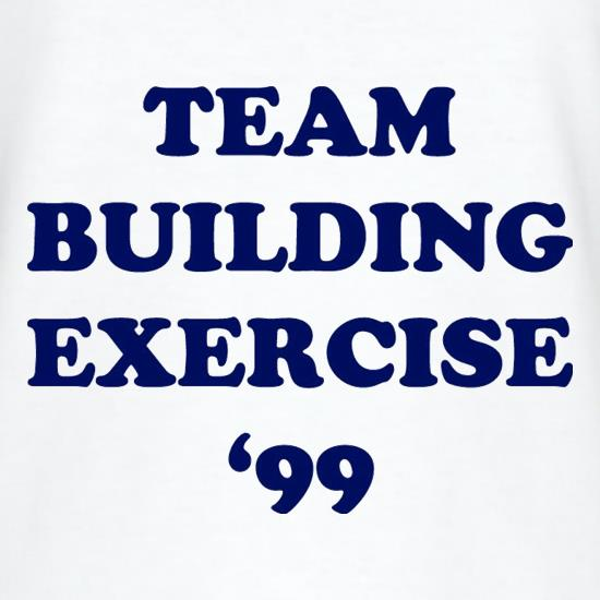 Team Building Exercise '99 t-shirts