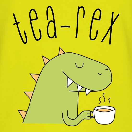 Tea-Rex t-shirts