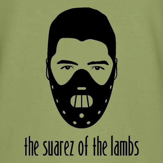 The Suarez Of The Lambs t-shirts