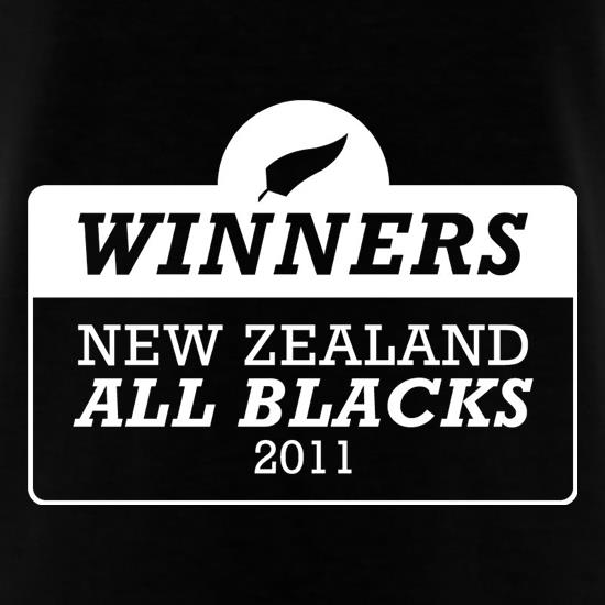 Winners New Zealand All Blacks t-shirts