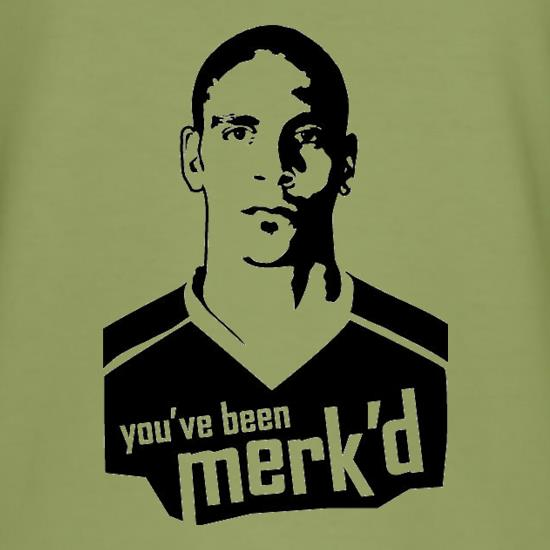 You've Been Merk'd t-shirts