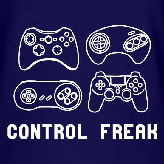 Control Freak V-Neck T-Shirts