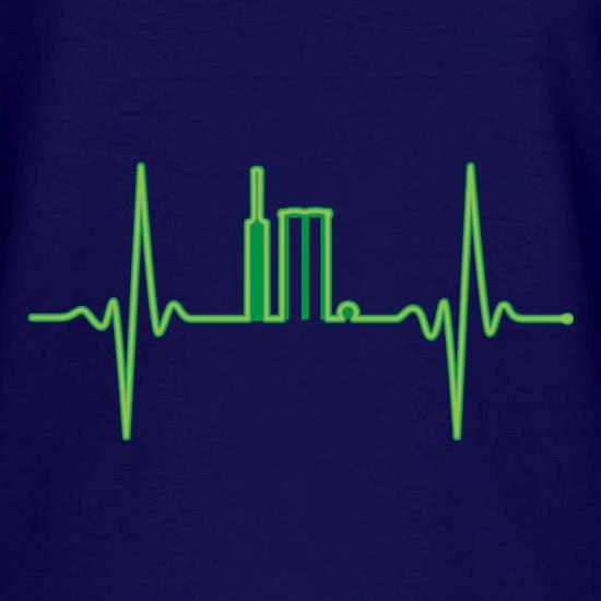Cricket Heartbeat Monitor V-Neck T-Shirts