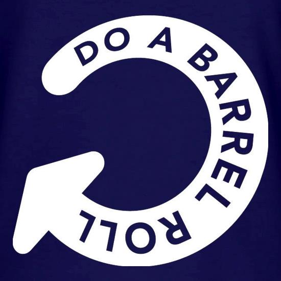 Do A Barrel Roll V-Neck T-Shirts