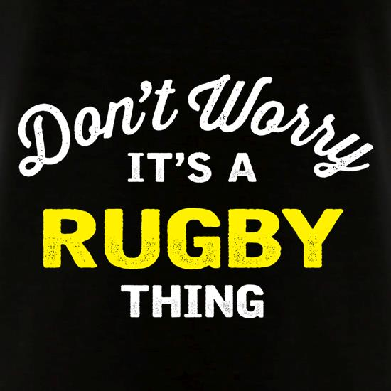 Don't Worry It's A Rugby Thing V-Neck T-Shirts