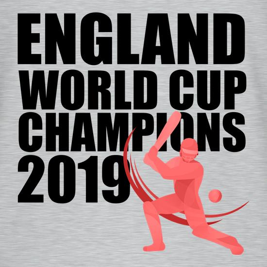 England World Cup Champions V-Neck T-Shirts