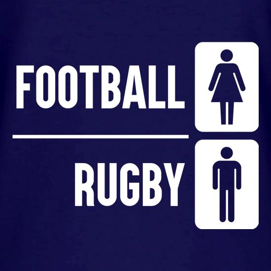 Football Or Rugby V-Neck T-Shirts