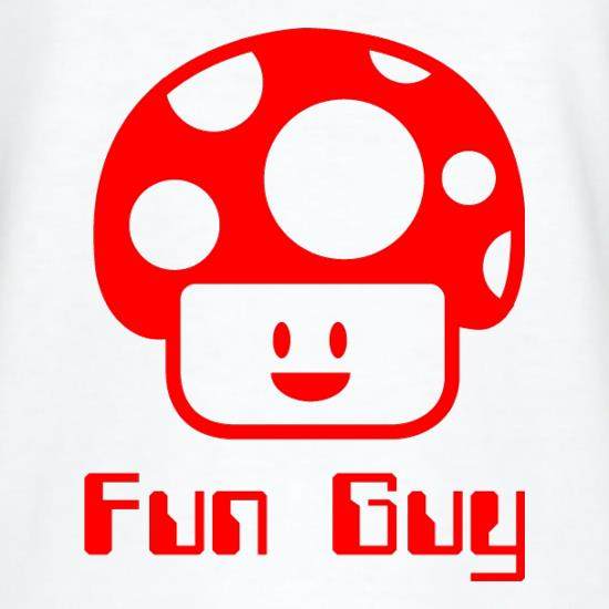 Fun Guy V-Neck T-Shirts
