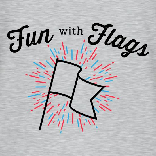 Fun With Flags V-Neck T-Shirts