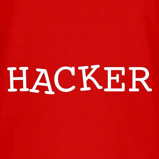 Hacker V-Neck T-Shirts