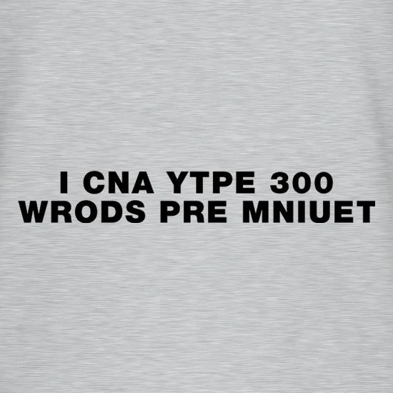 I Can Type 300 Words Per Minute V-Neck T-Shirts