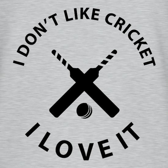 I Don't Like Cricket I Love It V-Neck T-Shirts