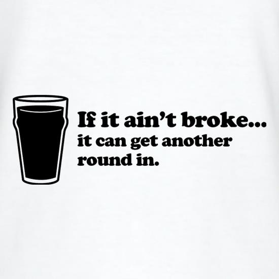 If It Ain't Broke, It Can Get Another Round In V-Neck T-Shirts