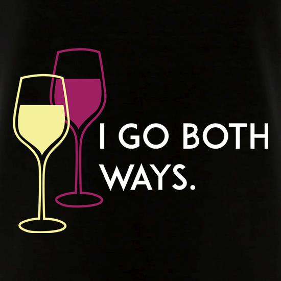 I Go Both Ways V-Neck T-Shirts