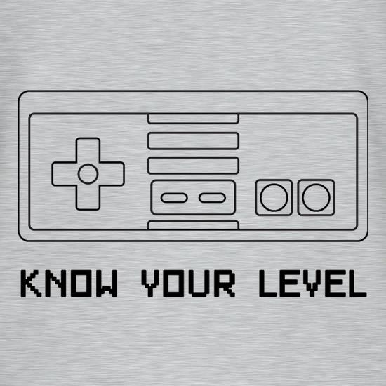 Know Your Level V-Neck T-Shirts