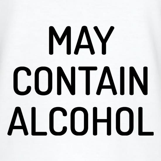 May Contain Alcohol V-Neck T-Shirts