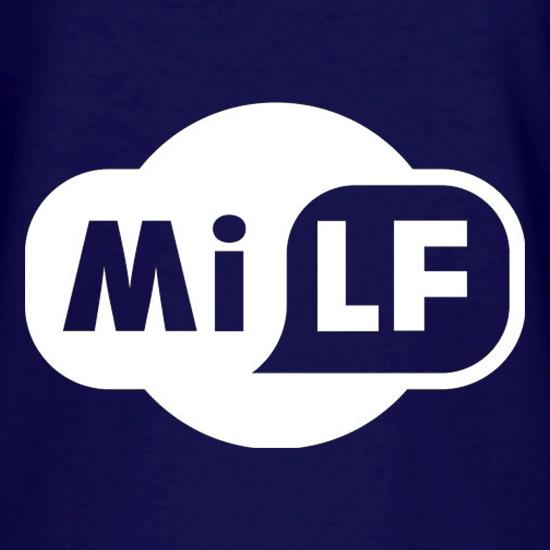 Milf V-Neck T-Shirts