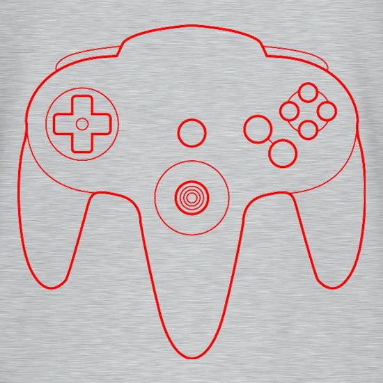 N64 Joypad V-Neck T-Shirts