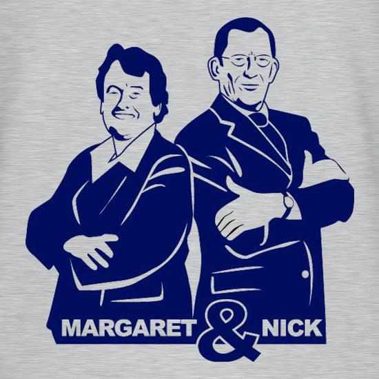 Nick & Margaret V-Neck T-Shirts