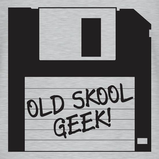 Old School Geek V-Neck T-Shirts