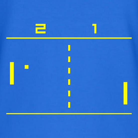 Pong Computer Game V-Neck T-Shirts