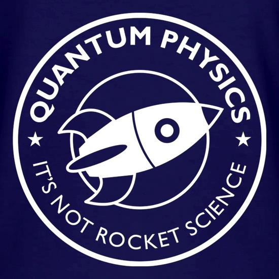 Quantum Physics It's Not Rocket Science V-Neck T-Shirts