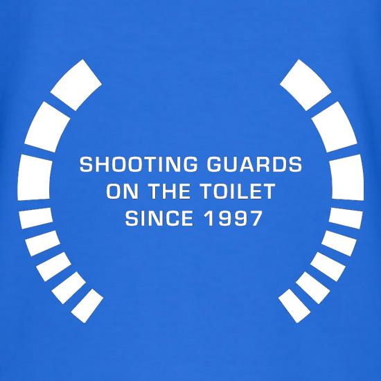 Shooting Guards On The Toilet Since 1997 V-Neck T-Shirts