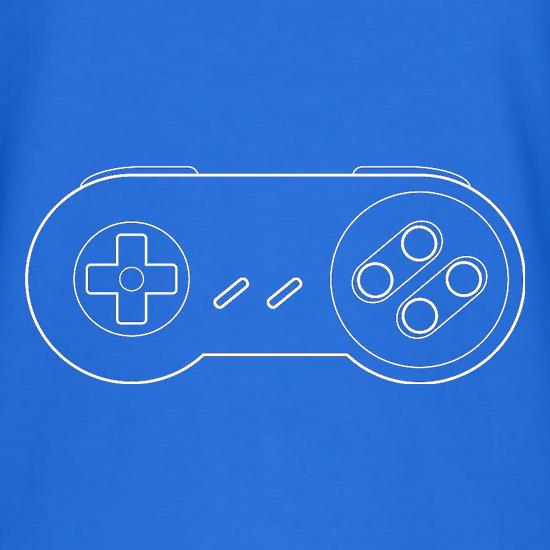 SNES Joypad V-Neck T-Shirts