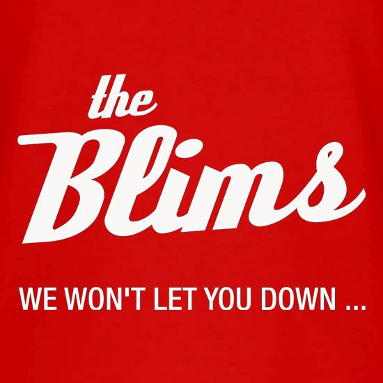 The Blims We Won't Let You Down V-Neck T-Shirts