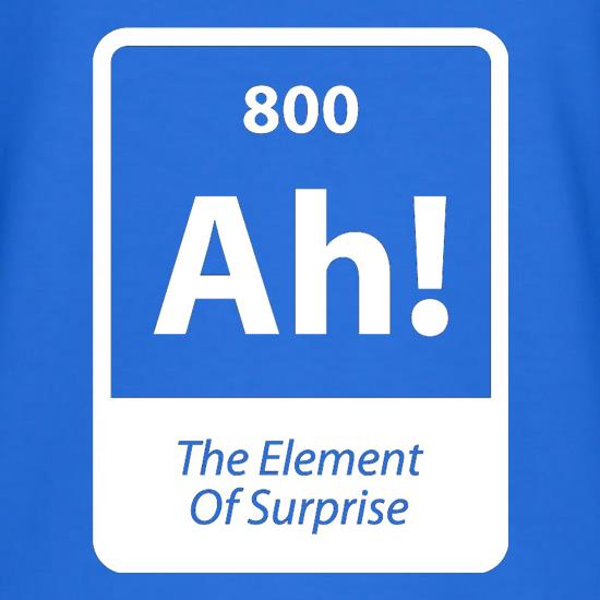The Element Of Surprise V-Neck T-Shirts