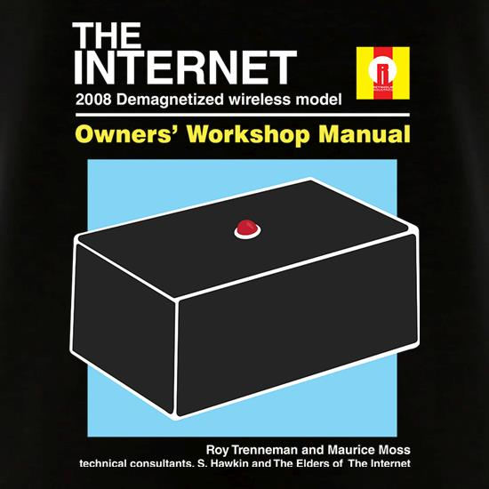 The Internet Owners Manual V-Neck T-Shirts
