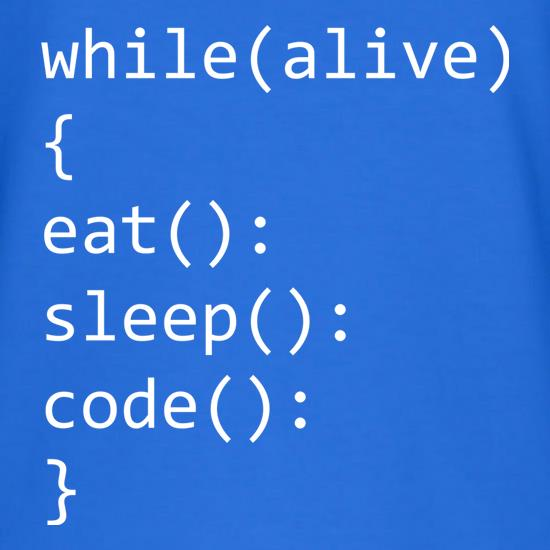 Eat, Sleep, Code V-Neck T-Shirts