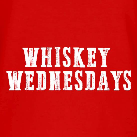 Whiskey Wednesdays V-Neck T-Shirts