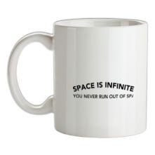 Space Is Inifinite You Never Run Out Of Space t shirt