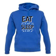 Eat A Lot, Sleep A Lot t shirt