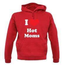 I Heart Hot Moms t shirt