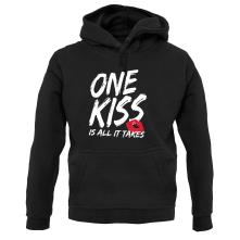 One Kiss Is All It Takes t shirt