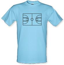 Basketball Court t shirt