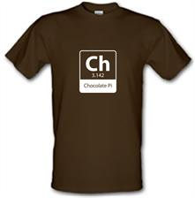 Chocolate Pi t shirt