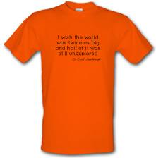 David Attenborough Quote t shirt