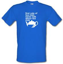 First Rule Of Tea Club t shirt