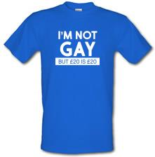 I'm Not Gay But... t shirt