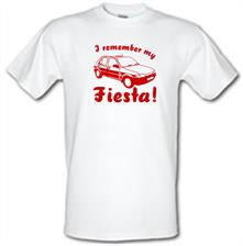 I Remember My Fiesta! t shirt