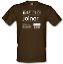 Joiner Ingredients t shirt