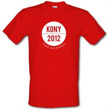 Kony 2012 Make Him Famous t shirt