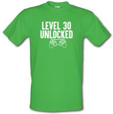 Level Thirty Unlocked t shirt