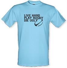 Live Hard Play Rugby Die Ugly t shirt